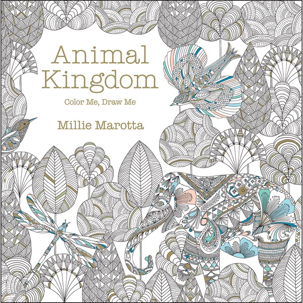 Lark Books Animal Kingdom Color Me, Draw Me