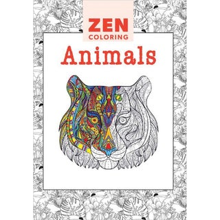 Guild Of Master Craftsman Books Zen Coloring Animals