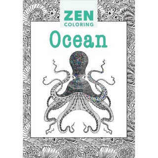 Guild Of Master Craftsman Books Zen Coloring Ocean