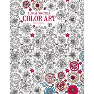 Leisure Arts Floral Wonders Color Art