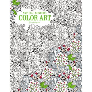Leisure Arts Natural Wonders Color Art