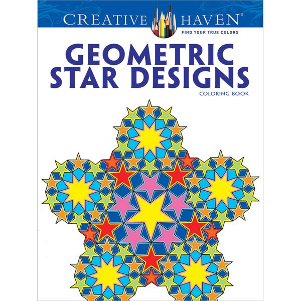 Dover Publications Creative Haven Geometric Star Designs