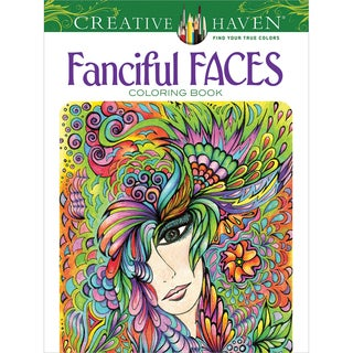 Dover Publications Creative Haven Fanciful Faces