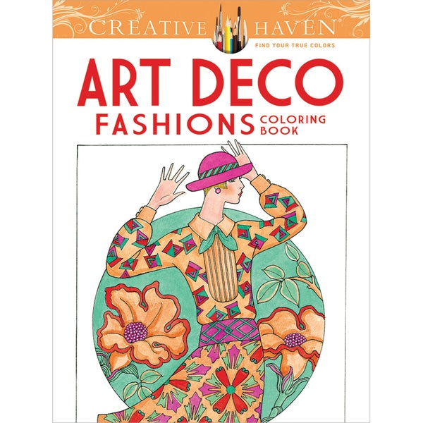 Dover Publications Creative Haven Art Deco Fashions