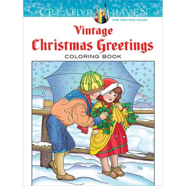 Dover Publications Creative Haven Vintage Christmas