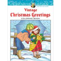 Dover Publications Creative Haven Vintage Christmas