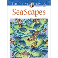 Dover Publications Creative Haven SeaScapes