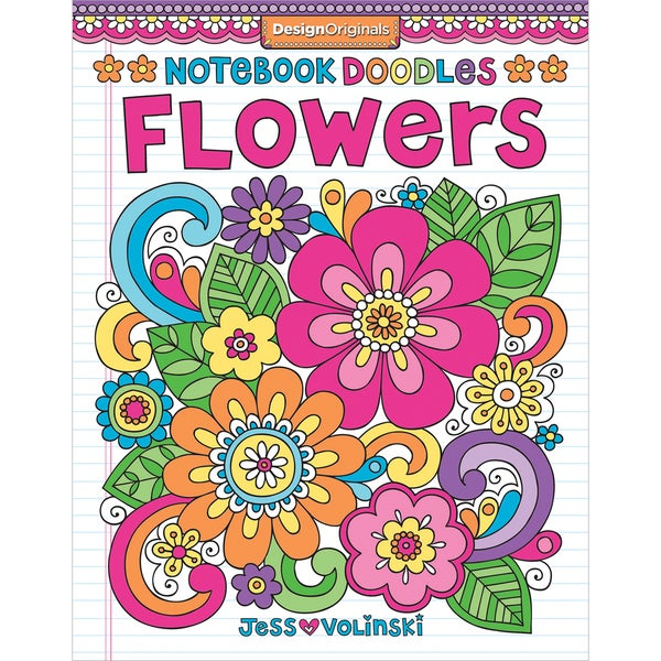 Design Originals Notebook Doodles Flowers