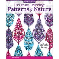 Design Originals Creative Coloring Patterns Of Nature