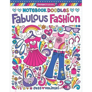Design Originals Notebook Doodles Fabulous Fashion