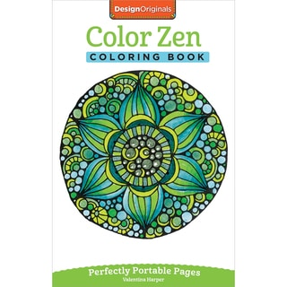 Design Originals Color Zen Coloring Book