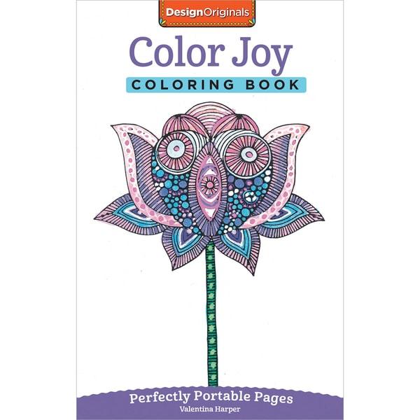 Design Originals Color Joy Coloring Book