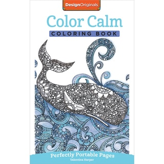 Design Originals Color Calm Coloring Book