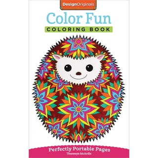 Design Originals Color Fun Coloring Book