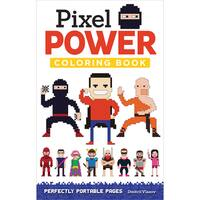 Design Originals Pixel Power Coloring Book