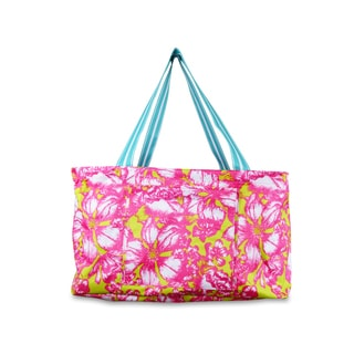 All For Color Aloha Paradise Multipurpose Bin/Tote Bag