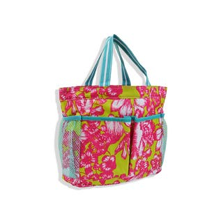 All For Color Aloha Paradise Caddy Tote Bag|https://ak1.ostkcdn.com/images/products/11192745/P18183793.jpg?impolicy=medium