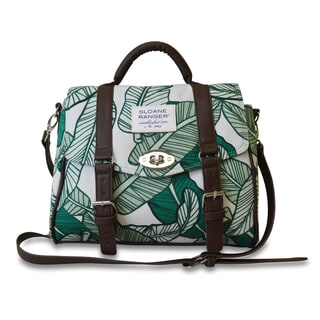 Sloane Ranger Banana Leaf Handle Top Bag