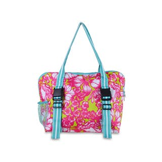 All For Color Aloha Paradise Yoga Tote|https://ak1.ostkcdn.com/images/products/11192777/P18183823.jpg?impolicy=medium