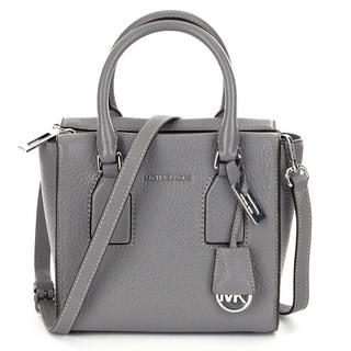 Michael Kors Selby Medium Grey Crossbody Satchel Handbag