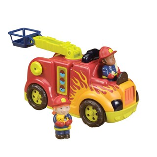 B. Toys B. Rrroll Model Fire Flyer Firetruck