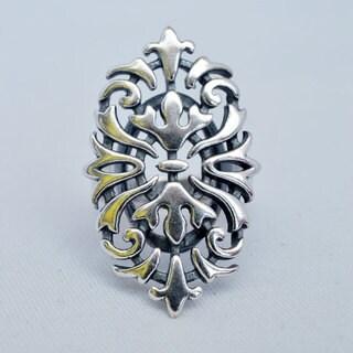 Silverplated 'Vuzieh' Hypoallergenic Ring