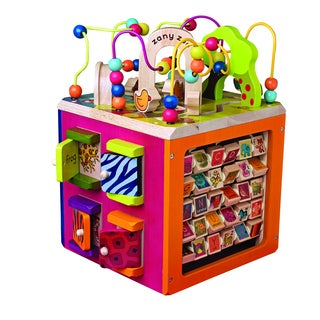 B. Toys B. Zany Zoo Activity Toy