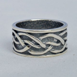 Silverplated 'Ulrikh' Hypoallergenic Ring