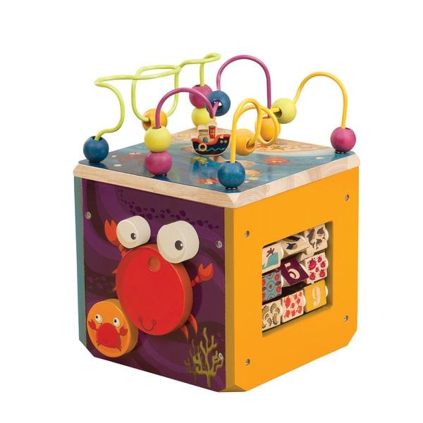 B. Toys B. Mini Zany Zoo Activity Toy