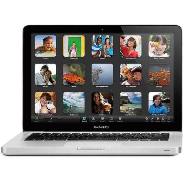 Apple MacBook Pro MD101LL/A 13.3-inch 2.4GHz Intel Core i5 4GB DDR3 Notebook Computer- Refurbished