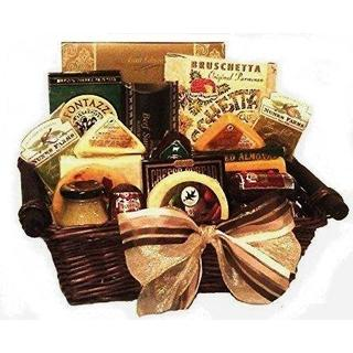 Deluxe Cheese Gift Basket