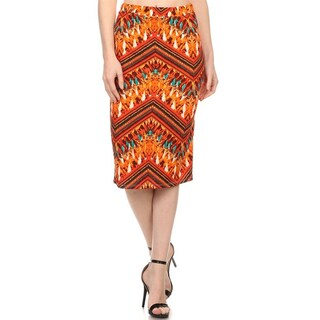 MOA Collection Women's Sublimation Print Skirt