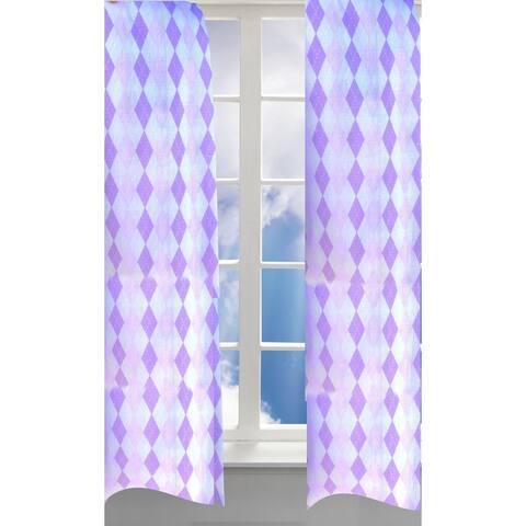 Pam Grace Creations Lovebirds Curtain Panels