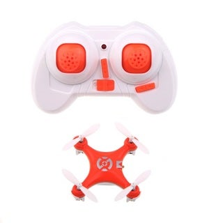 Cheerson CX-10 Orange Mini Nano Drone LED Remote Control Quadcopter