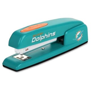 Swingline NFL Miami Dolphins 747 Business Stapler (1/Each)|https://ak1.ostkcdn.com/images/products/11193256/P18184121.jpg?impolicy=medium