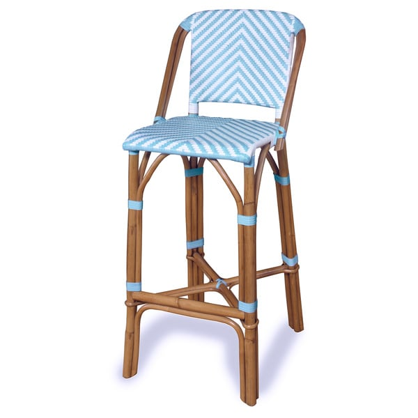 progressive rum point rattan bar stool - Progressive Furniture