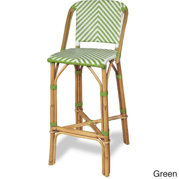 progressive rum point rattan bar stool