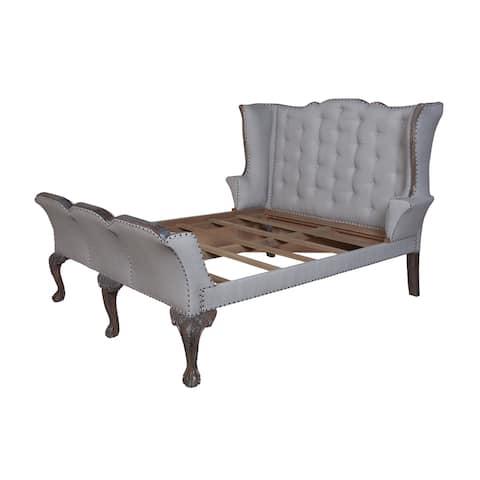 Guildmaster Heritage Queen Sleigh Bed