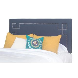 Progressive Addison Upholstered Nail Pattern Headboard and Bed