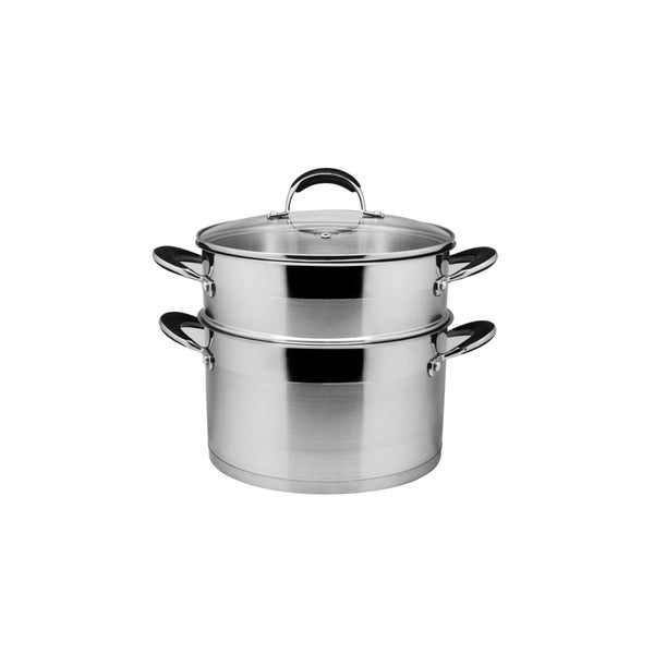 Cooking Pot Steamer ~ Shop prime cook stainless steel quart stock pot and