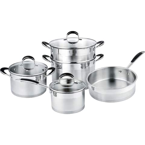 Prime Cook Stainless Steel 8-piece Cookset