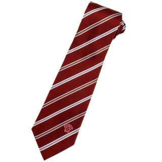 Versace Red Italian Silk Neck Tie