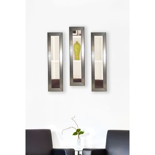 American Made Rayne Silver Rounded Mirror Panel
