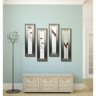 American Made Rayne Brushed Silver Mirror Panel