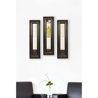 American Made Rayne Stepped Antiqued Mirror Panel
