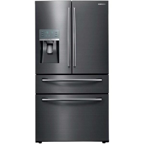 samsung 28 cubic foot french door refrigerator 18184335 overstock