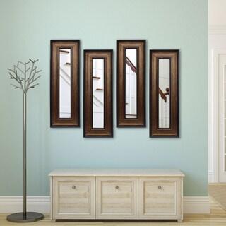 American Made Rayne Bronze and Black Mirror Panel