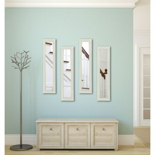 American Made Rayne Glossy White Mirror Panel