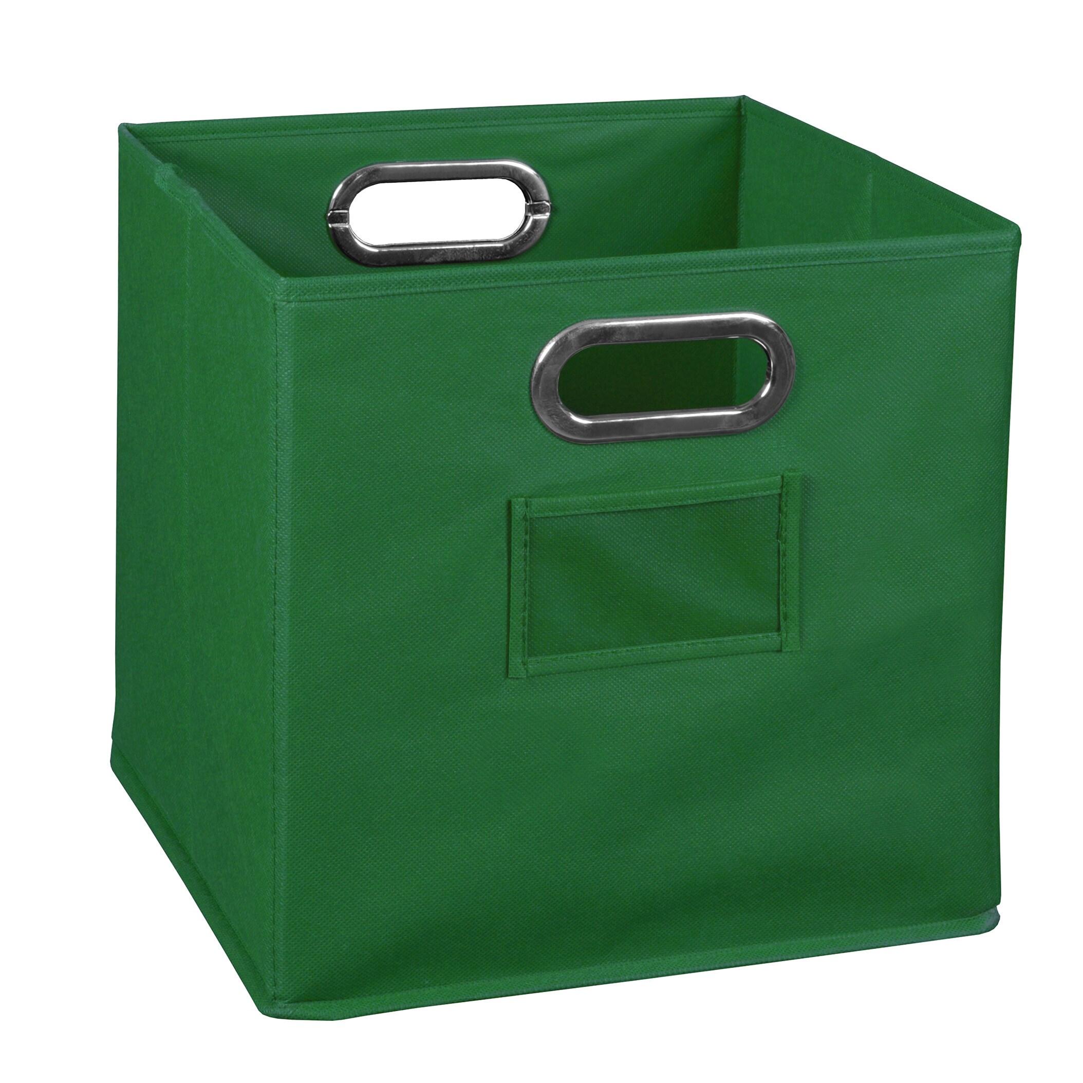 Regency Seating Niche Cubo Foldable Fabric Storage Bin- G...