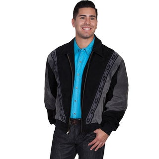Scully Men's Two-tone Suede Jacket